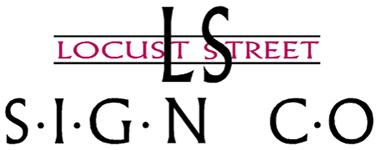 Locust Street Sign Retina Logo