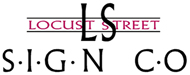 Locust Street Sign Mobile Logo
